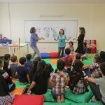 Göçmen çocuklara oyun atölyesi