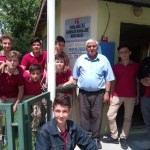 Kırklareli'nde öğrencilerden gıda yardımı