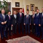 Başkan Şahin, Rus heyeti ağırladı