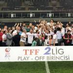 Futbol: TFF 2. Lig play-off finali