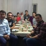 Başkan Güven iftar sofrasına konuk oldu