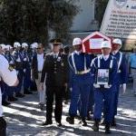 Emekli Jandarma Tuğgeneral Tümerkan son yolculuğuna uğurlandı