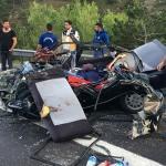 Ankara'da trafik kazası: 3 ölü 1 yaralı