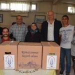 Avrupa'daki Kütahyalılardan ramazan paketi
