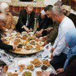 Cumhurbaşkanı Erdoğan, orucunu yer sofrasında açtı