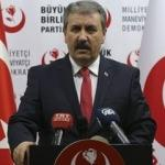 BBP Genel Başkanı Destici'den 'af' açıklaması