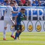 Ibrahimovic bu kez abarttı! Rakibe tokat...