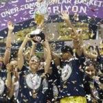 Kadınlar Basketbol Ligi şampiyonu Fenerbahçe