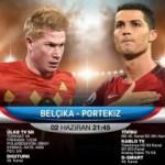 Ülke TV'de dev maç! Belçika - Portekiz