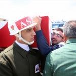 Şehit Uzman Çavuş Ergin son yolculuğuna uğurlandı