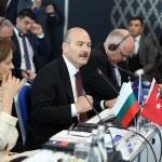 """Bakan Soylu, """"Sınır Ötesi İşbirliği"""" konferansına katıldı"""