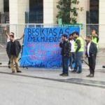 Beşiktaş'a şok! Vodafone Park'ta eylem...