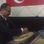 Bozdağ Ramazan pidesi pişirdi