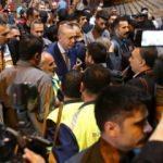 Cumhurbaşkanı Erdoğan'a Taksim'de yoğun ilgi