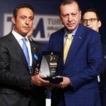 Erdoğan'dan Ali Koç'a tebrik!