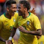 Neymar döndü Brezilya kazandı!
