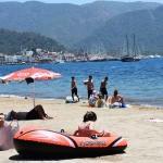 Antalya ve Muğla'da deniz keyfi
