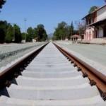 90 yıllık demiryolu hattı yenileniyor