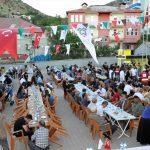 Çukurca'da iftar programı