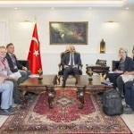 AGİT heyeti Vali Zorluoğlu'nu ziyaret etti