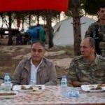 Korgeneral Temel Afrin kahramanlarıyla iftar yaptı