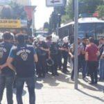 Bakırköy'de KESK gerginliği! Polis müdahale etti