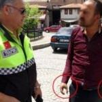 Tesadüfen yakalandı, polis bile inanamadı!