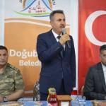 Vali Elban, Doğubayazıtlılarla iftar yaptı