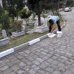 Ereğli'de mezarlıklar temizleniyor