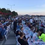 Silivri'de 10 bin kişi birlikte iftar yaptı