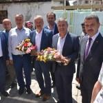 AK Parti Sinop milletvekili adaylarından Boyabat ziyareti