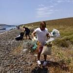 Ayvalık açıklarındaki adalarda temizlik etkinliği