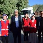 Kızılay'dan bin 300 aileye gıda yardımı