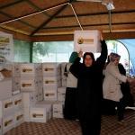 Suriyeli yetimlere bayram yardımı