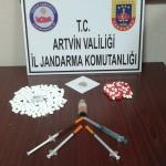 Artvin'de uyuşturucu operasyonu
