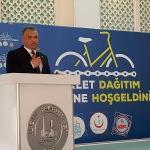 Ilgın'da başarılı öğrencilere bisiklet hediye edildi