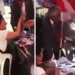 CHP'liler başörtülü kadını yalancılıkla suçladı