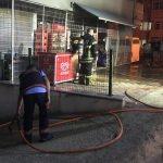 Tekirdağ'da markette patlama