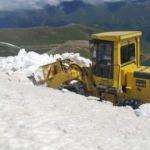 Haziran ortasında karla mücadele! Karadeniz ili...