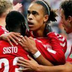 Müthiş maçta Danimarka'ya tek gol yetti!