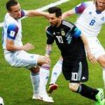 Messi çöktü, Arjantin İzlanda'ya takıldı!