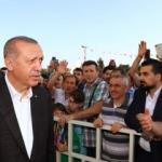 Erdoğan, bayram namazını İstanbul'da kıldı