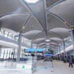 3'üncü Havalimanı'ndan muhteşem fotoğraflar