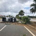 Gazipaşa'da trafik kazası: 4 yaralı