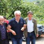 Konya'da otomobilin şarampole devrilmesi