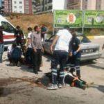 Kırmızı ışıkta feci kaza! 9 kişi yaralandı