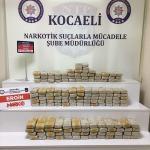 Kocaeli'de 85 kilogram uyuşturucu ele geçirildi