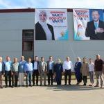 AK Parti Sakarya milletvekili adayı Atabek işçileri ziyaret etti