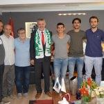 Lüleburgaz Belediye Başkanı Gerenli'ye ziyaretler
