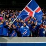 İzlanda'nın neredeyse tamamı maçu izledi